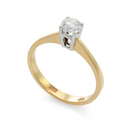 Фото«UV-20237037» Кольцо с бриллиантом