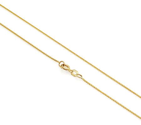 Фото«UVF-20278509»Цепочка из желтого золота «Колос»