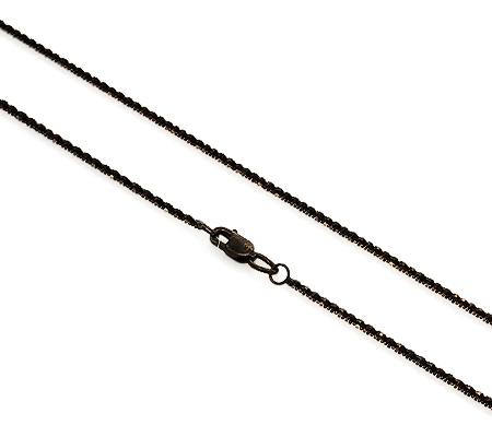 Фото«UVF-20279075»Женская золотая цепочка из черного золота