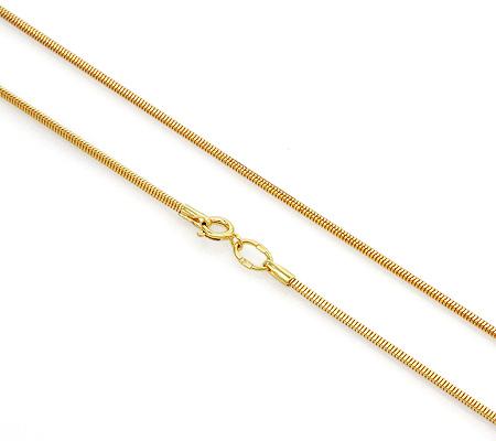 Фото«UVF-20282771»Женская цепочка «Корда» из желтого золота