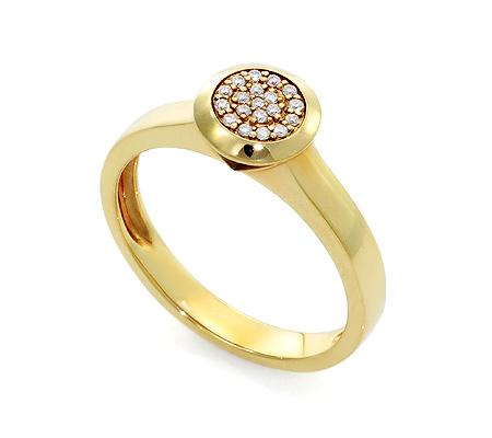 Фото«UV-20285552» Кольцо с бриллиантом