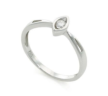 Фото«UV-20285555» Кольцо с бриллиантом