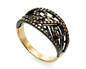Кольца с бриллиантом; Код: UV-20285848; Вес: 3.86г; 0р.