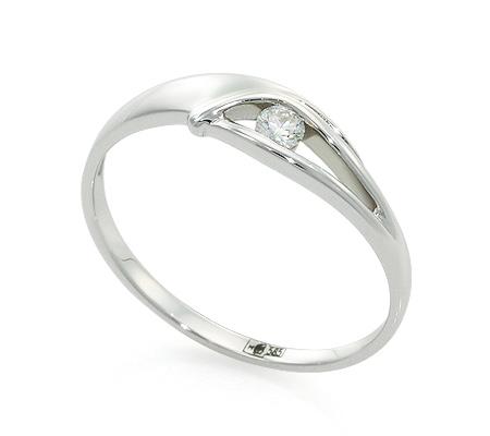 Фото«UV-20285869» Кольцо с бриллиантом