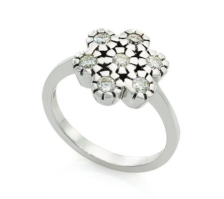 Фото«UV-20285875» Кольцо с бриллиантом