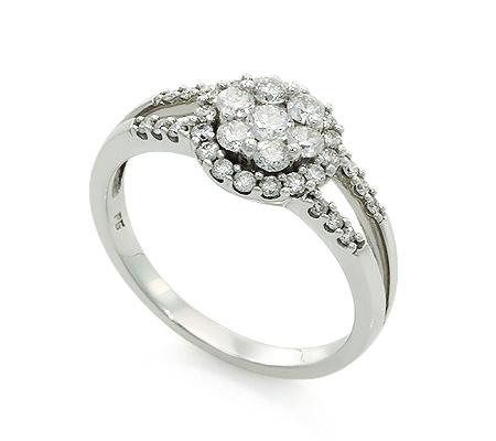 Фото«UV-20285879» Кольцо с бриллиантом