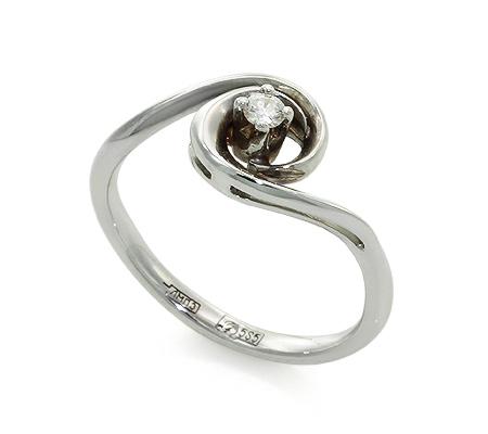 Фото«UV-20285933» Кольцо с бриллиантом