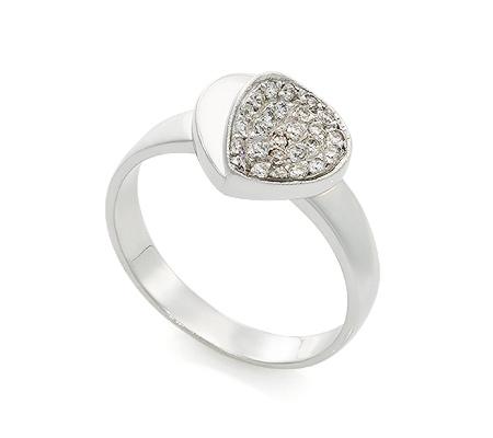 Фото«UV-20286040» Кольцо с бриллиантом