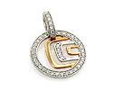 Подвески и кулоны с бриллиантами; Код: UV-20286049; Вес: 2.33г; 0р.