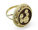 Кольца без камней и вставок; Код: UV-20317922; Вес: 9.98г; 0р.