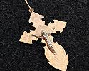 Кресты и крестики мужсике и женские; Код: UV-3511133; Вес: 4.25г; 10600р.
