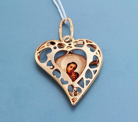 Фото«UV-3603»Православный образок из золота