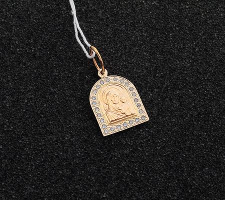 Фото«UV-7512122-184»Православный образок «Богоматерь Казанская»