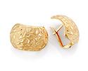 Серьги без камней и вставок; Код: VG-7485; Вес: 3.46г; 0р.