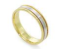 Обручальные кольца парные; Код: RG-V1010-TS-BK; Вес: 4.42г; 16800р.