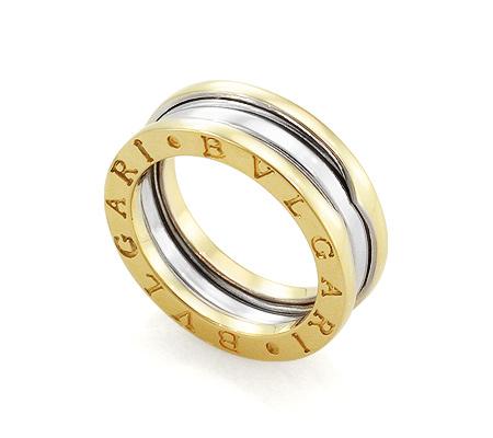 Фото«GZ-4659»Кольцо Булгари из золота без вставок 6 мм
