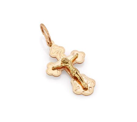 Фото«VL-4779»Маленький золотой крестик на крестины