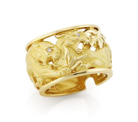 Фото«VL-6881»Эксклюзивное кольцо в стиле Cartier / Картье