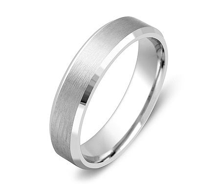 Фото«ZG-20006»Обручальное кольцо из белого золота парное