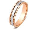 Обручальные кольца парные; Код: ZG-20008; Вес: 4.35г; 0р.