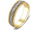 Обручальные кольца парные; Код: ZG-20012; Вес: 6.5г; 0р.