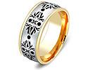 Обручальные кольца парные; Код: ZG-20028; Вес: 7.42г; 0р.