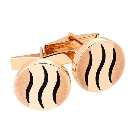 Фото«ZG-2333»Золотые запонки для настоящего Тигра!