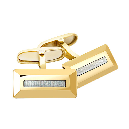 Фото«ZG-2336»Золотые мужские запонки