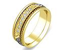 Обручальные кольца с бриллиантами; Код: ZG-30002; Вес: 6.07г; 0р.