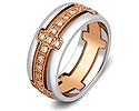 Обручальные кольца с бриллиантами; Код: ZG-30003; Вес: 6.25г; 0р.