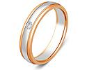 Обручальные кольца с бриллиантами; Код: ZG-30005; Вес: 5.56г; 0р.