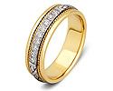 Обручальные кольца с бриллиантами; Код: ZG-30007; Вес: 4.74г; 0р.