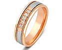 Обручальные кольца с бриллиантами; Код: ZG-30008; Вес: 3.78г; 0р.