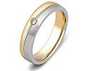 Обручальные кольца с бриллиантами; Код: ZG-30019; Вес: 3.24г; 0р.