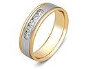 Обручальные кольца с бриллиантами; Код: ZG-30021; Вес: 4.94г; 0р.