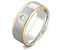 Обручальные кольца с бриллиантами; Код: ZG-30024; Вес: 4.3г; 0р.