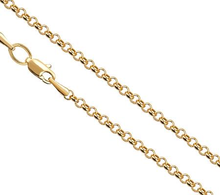 Фото«ZG-4001»Женская цепочка из жёлтого золота