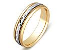 Обручальные кольца оригинальные; Код: ZG-50009; Вес: 3.36г; 0р.