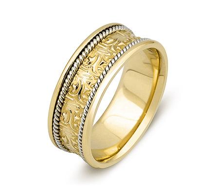 Фото«ZG-50038»Обручальное кольцо из желтого золота