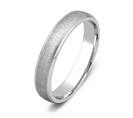 Фото«ZG-50042»Обручальное кольцо из белого золота