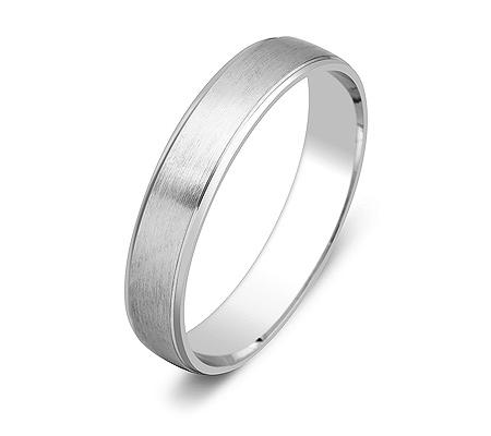 Фото«ZG-50053»Обручальное кольцо из белого золота