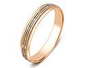 Обручальные кольца оригинальные; Код: ZG-50055; Вес: 2.18г; 0р.
