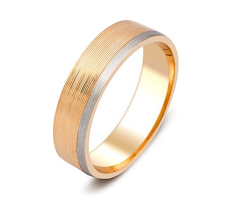 Фото«ZG-50073»Обручальное кольцо из красного золота