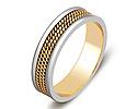 Обручальные кольца; Код: ZG-50075; Вес: 3.71г; 0р.