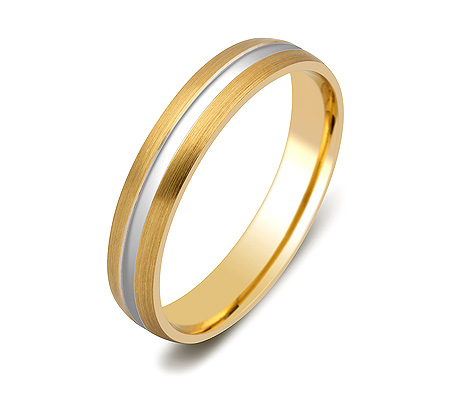 Фото«ZG-50078»Обручальное кольцо из желтого золота