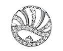 Подвески и кулоны с бриллиантами; Код: ZG-9121; Вес: 1.48г; 0р.