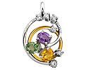Подвески и кулоны с бриллиантами; Код: ZG-9142; Вес: 3.76г; 0р.